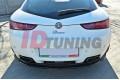 Сплиттер задний Alfa Romeo Brera (со стойками)