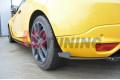 Комплект сплиттеров задних Renault Megane MK3 RS