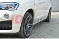 Накладки на пороги BMW X4 M-Pack