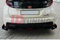 Комплект сплиттеров задних гоночных Honda Civic IX Type R