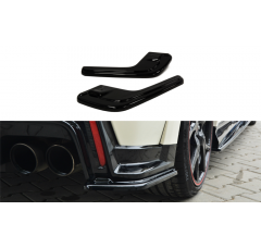 Комплект сплиттеров задних Honda Civic IX Type R