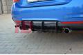 Накладка на бампер задний & Комплект сплиттеров задних BMW 4 F32 M-Pack