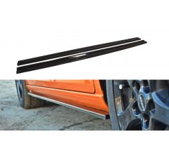 Накладки на пороги Seat Leon MK2 Cupra/FR Рестайл