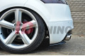 Комплект сплиттеров задних Audi TT MK2 RS