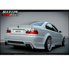 Бампер задний BMW 3 E46 Седан вар.2