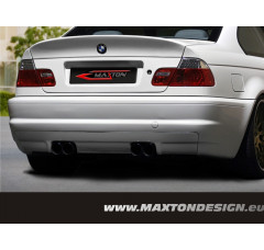 Бампер задний BMW 3 E46 Седан (совместима с выхлопом M3)