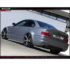 Бампер задний BMW 3 E46 Седан вар.1