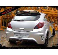 Бампер задний Opel Corsa D 3дв