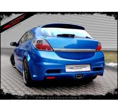 Бампер задний Opel Astra H Хэтчбек(3дв)