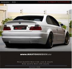 Бампер задний BMW 3 E46 Купе/Кабриолет