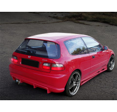 Бампер задний Honda Civic V Хэтчбек вар.2
