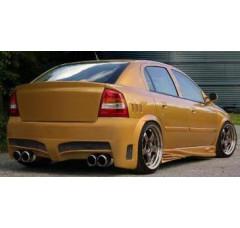 Бампер задний Opel Astra G Хэтчбек