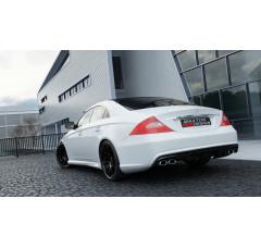 Бампер задний Mercedes CLS C219