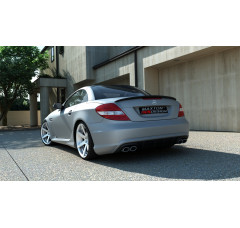 Бампер задний Mercedes SLK R171 (AMG204 look)
