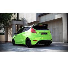 Бампер задний Ford Fiesta MK7 (RS look)
