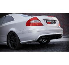 Бампер задний Mercedes CLK W209 (BS look)