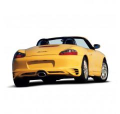 Накладка на бампер задний Porsche Boxter Дорестайл