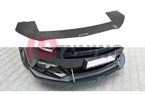 Сплиттер передний гоночный Ford Mustang MK6 GT