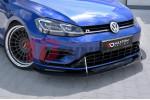 Сплиттер передний гоночный составной Volkswagen GOLF VII R Рестайл