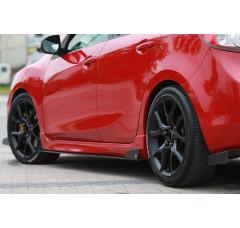 Накладки на пороги гоночные Mazda 3 MK2 MPS