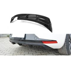 Накладка на задний бампер Seat Leon III FR