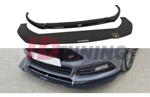 Накладка на бампер передний Focus ST MK3 Рестайл вар.1