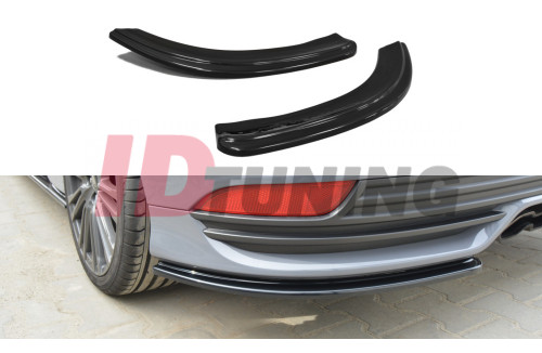 Комплект сплиттеров задних Ford Focus 3 ST Рестайл