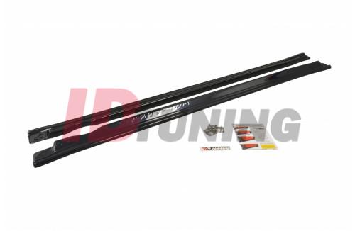 Накладки на пороги Subaru Impreza II WRX