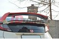 Накладка на спойлер 2 Honda Civic IX Type R