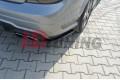 Комплект сплиттеров задних Mercedes C W204 AMG-Line Дорестайл