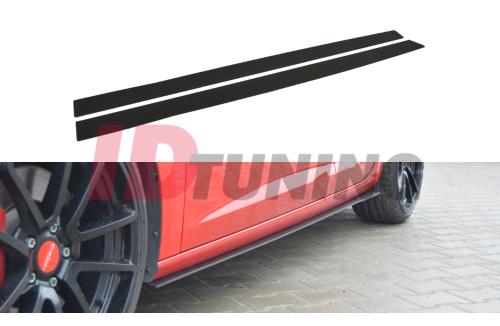 Накладки на пороги гоночные Seat Leon III Cupra/FR