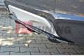 Сплиттер задний BMW X4 M-Pack (со стойками)