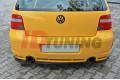 Комплект сплиттеров задних Volkswagen Golf IV R32