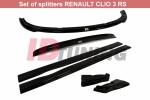 Комплект сплиттеров Renault Clio III RS