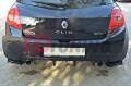 Комплект сплиттеров задних Renault Clio III RS