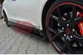 Накладки на пороги Honda Civic IX Type R