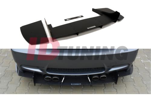 Накладка на бампер задний BMW M3 E92/E93