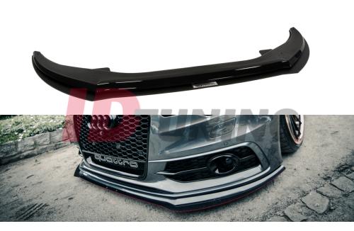 Сплиттер передний гоночный Audi A6 C7 S-Line