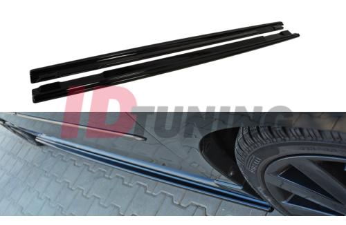 Накладки на пороги Mazda 3 MPS MK1 Дорестайл