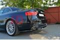 Сплиттер задний Audi A5 S-Line (со стойками)