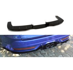 Накладка на бампер задний Ford Focus 3 ST Универсал