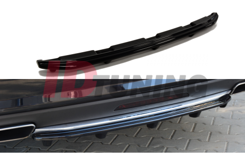 Сплиттер задний Mercedes CLS C218 (со стойками)