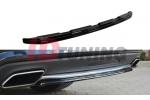 Сплиттер задний Mercedes CLS C218 (без стоек)