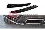 Комплект сплиттеров задних Mercedes CLS C218
