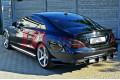 Накладка на бампер задний Mercedes CLS C218