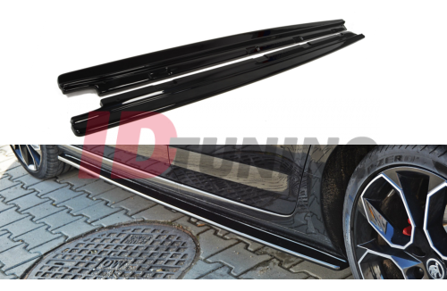 Накладки на пороги Skoda Octavia III RS