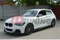 Накладки на пороги BMW 1 F20 M-Power Дорестайл