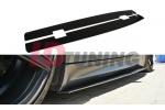 Накладки на пороги гоночные BMW M3 E92/E93 Дорестайл