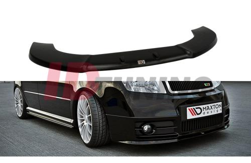 Сплиттер передний Skoda Fabia I RS