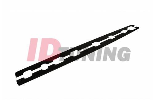 Накладки на пороги гоночные Audi A6 C7 S-Line AVANT CNC